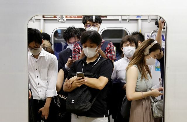 japan supercomputer suggests changes to travel work amid airborne virus threat