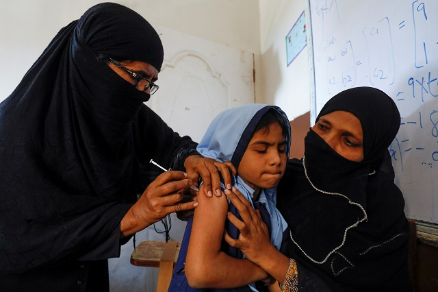 1m children vaccinated against typhoid official