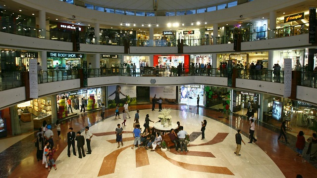 a reuters file photo of a shopping mall