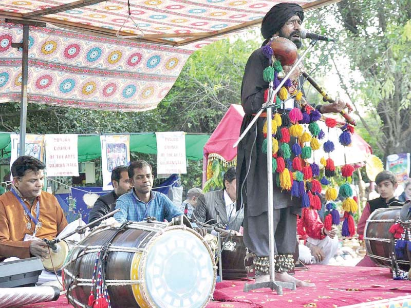 northern tunes sway audiences at lok virsa festival in g b