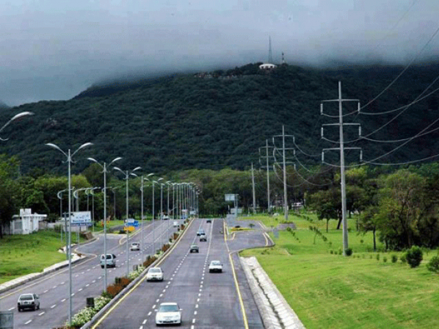 Islamabad. PHOTO: EXPRESS