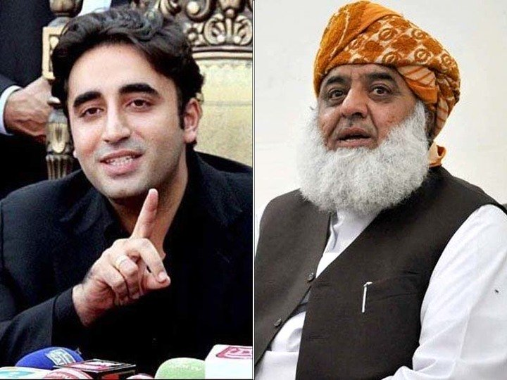 PPP Chairman Bilawal Bhutto Zardari has decided to join Maulana Fazlur Rehman's APC on November 26. PHOTO: EXPRESS