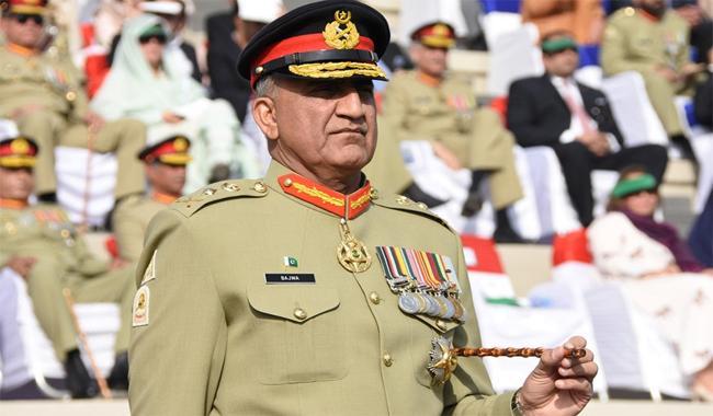 Army Chief Gen Qamar Javed Bajwa. PHOTO: ISPR/FIle