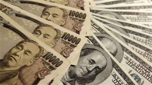 Central bank cites official inflows as reason for increase. PHOTO: FILE