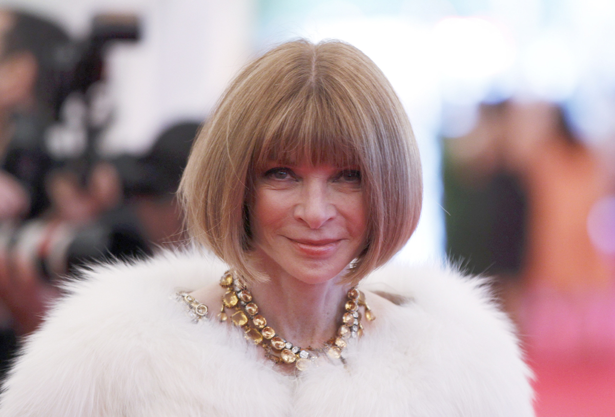 vogue is the biggest influencer of them all anna wintour calls out blogger culture