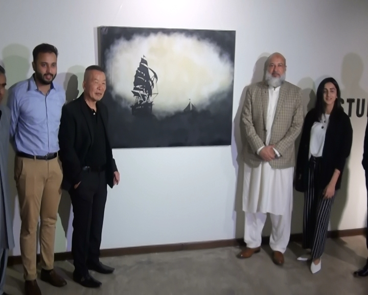 studio seven art gallery showcases paintings by taiwanese artists