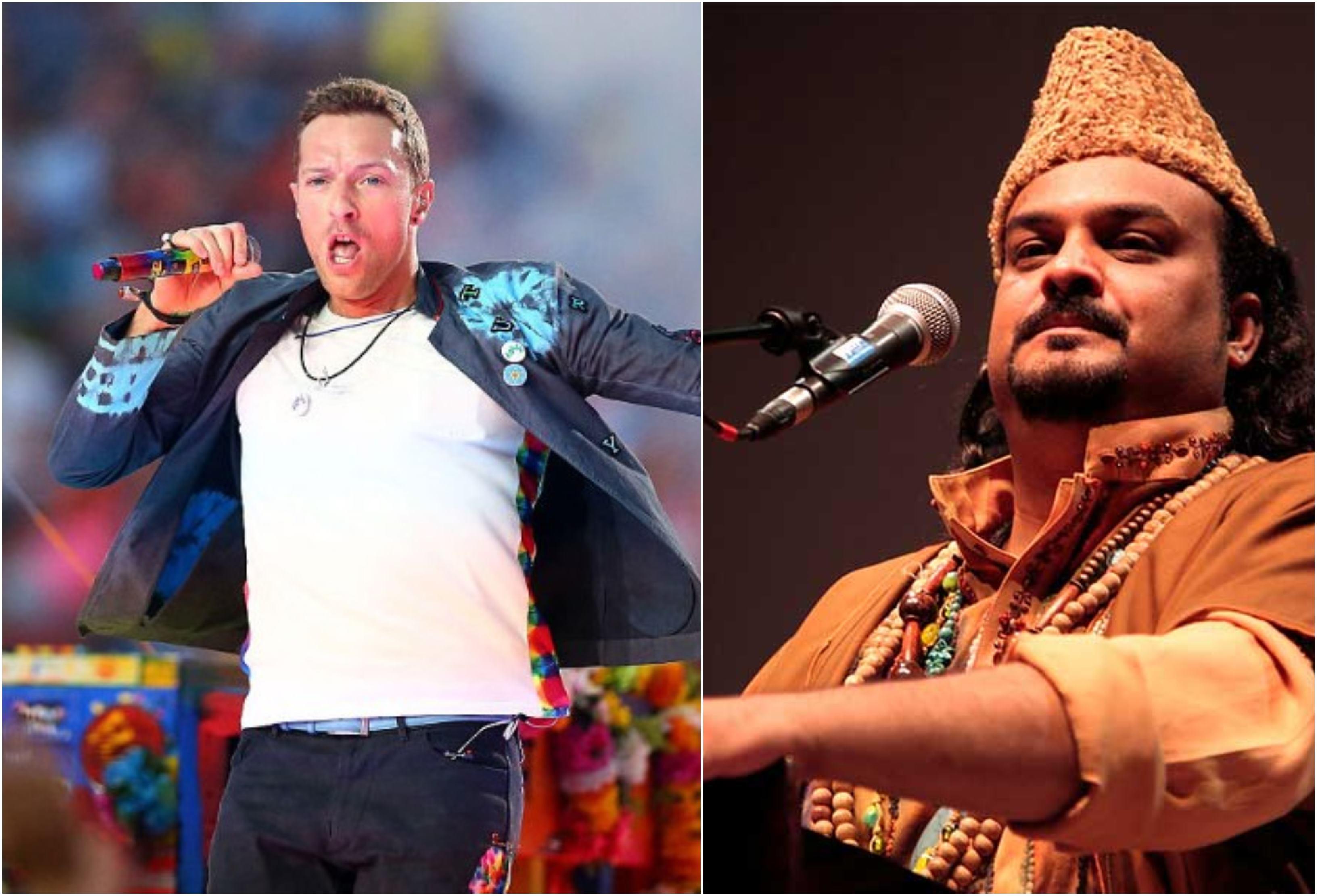amjad sabri features in coldplay s latest album