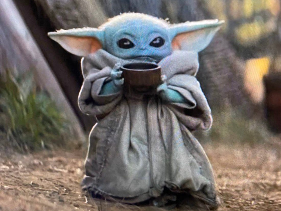 why baby yoda is breaking the internet