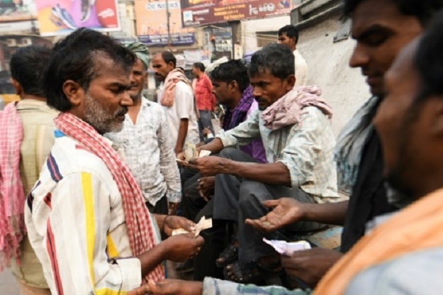 india s poor fight desperate battle to find work as slowdown bites