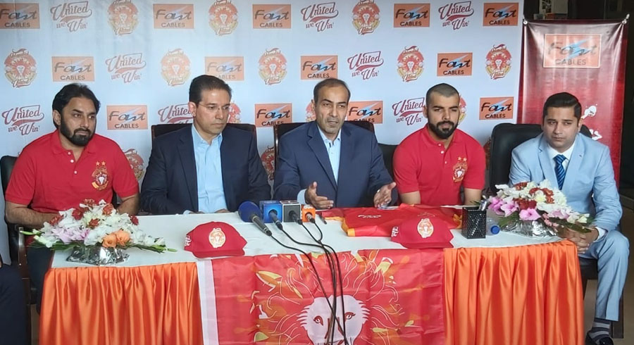 islamabad united renews partnership with fast cables