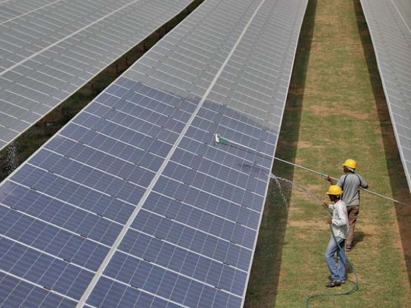 in a first sindh to auction solar power project