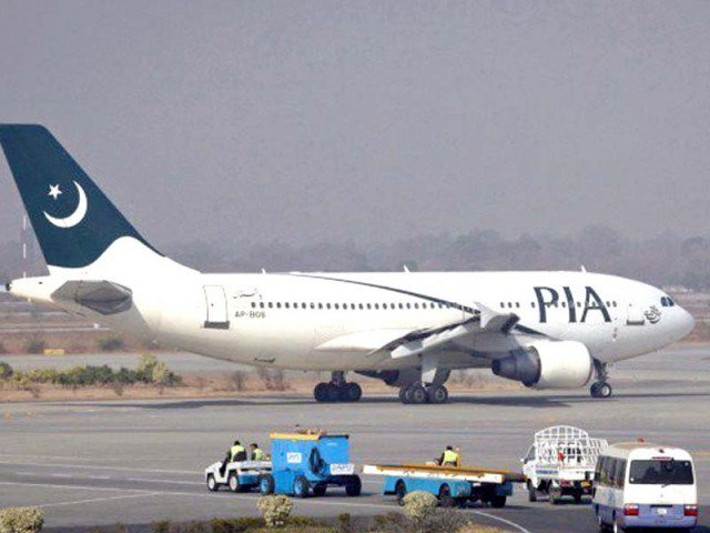afghan authorities hold up pakistani passenger plane at kabul airport