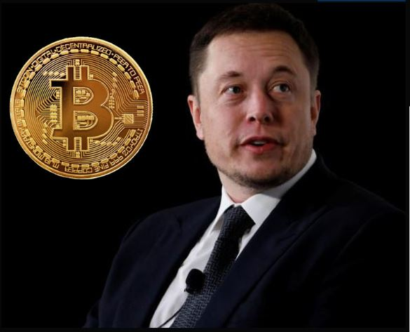 bitcoin falls after musk says that the currency cannot be used to buy tesla