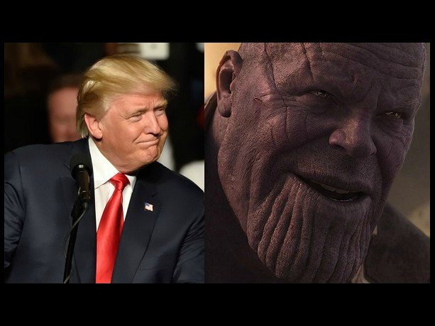 watch trump appears as thanos in new election ad