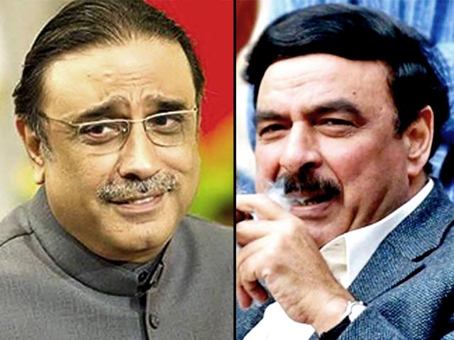 zardari will return looted wealth by march next year sheikh rashid