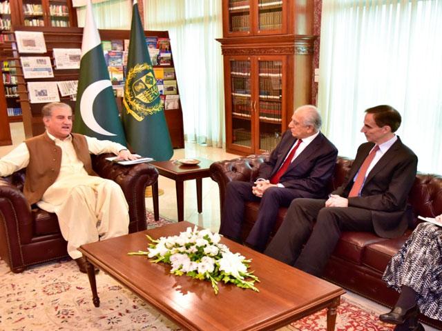 khalilzad seeks fresh impetus in talks with afghan taliban