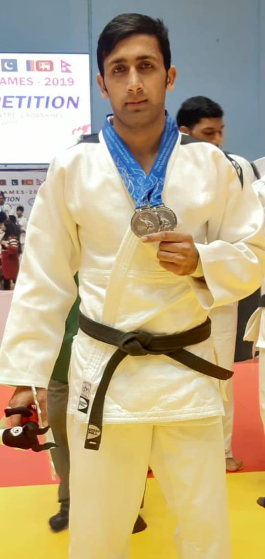 injured judoka qaisar searching for silver lining after 2019 sag medals