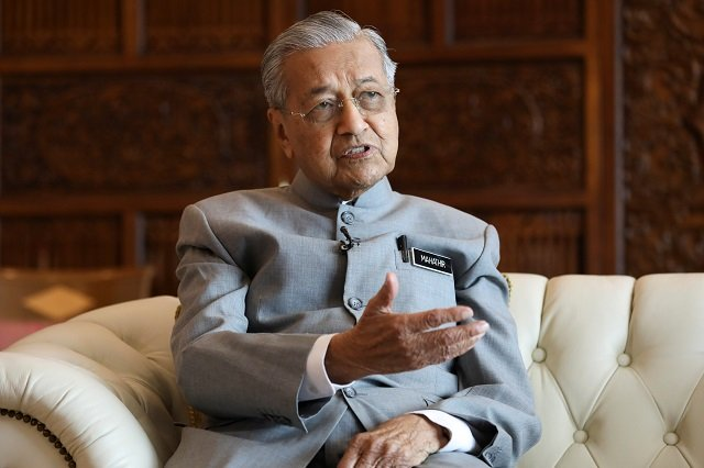 muslims have right to punish french if eye for an eye law applies mahathir