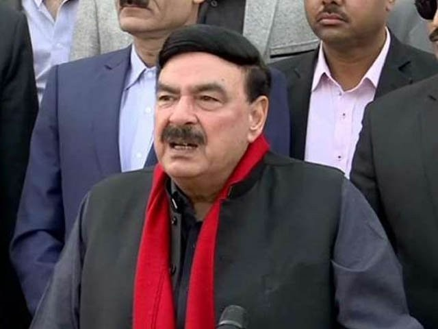 interior minister sheikh rashid ahmed photo express file