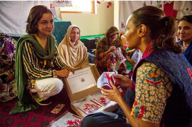 the chitrali woman who made waves at milan fashion week