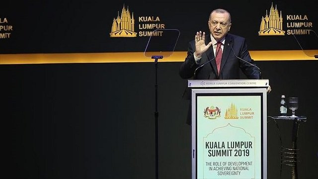 fate of world s muslims not in hands of five countries erdogan at kl summit