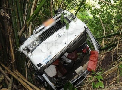 five perish in sheikhupura accident