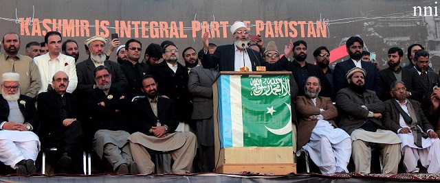 ji calls for strategy to liberate kashmiris from indian yoke