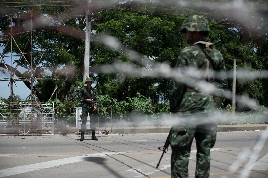 thailand charges two soldiers in killing of muslim civilians