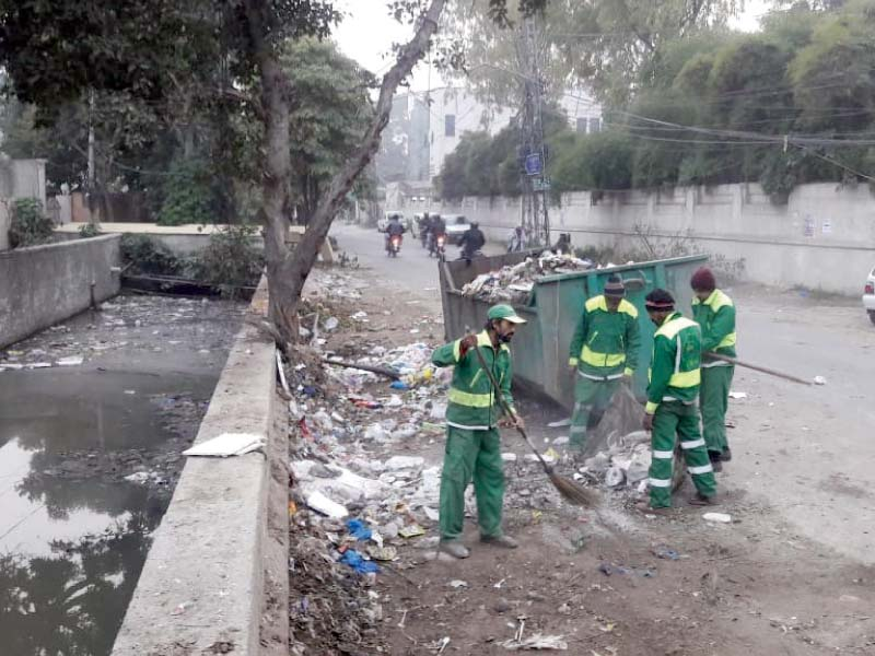 lahore waste management company struggles to keep the city clean