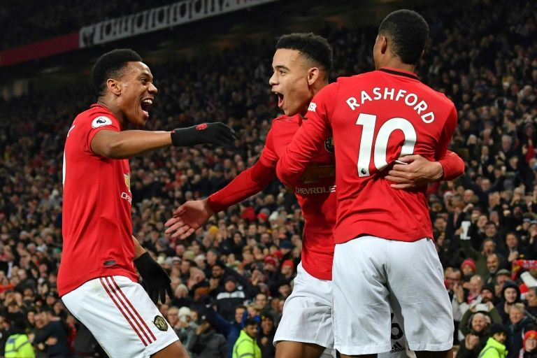martial double fires man united in newcastle rout