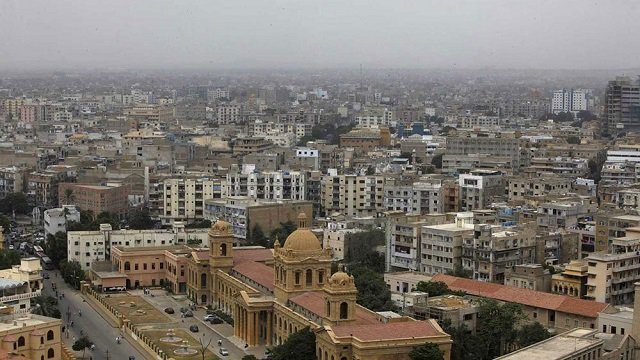 karachi skyline photo reuters