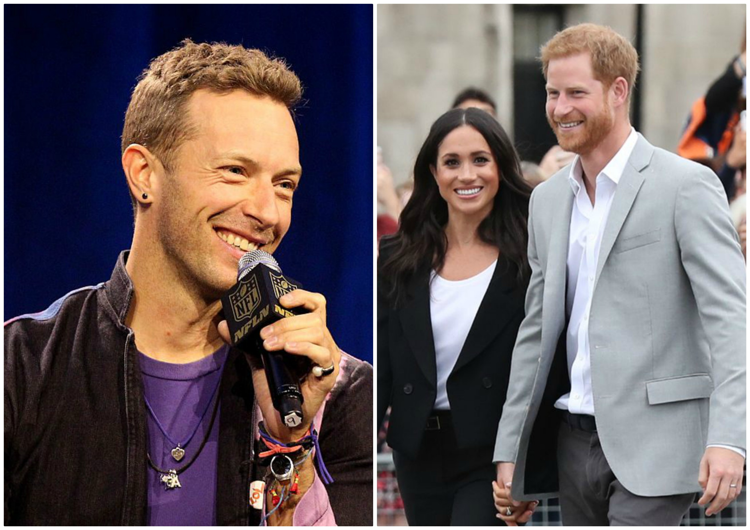 prince harry meghan markle thank coldplay while wishing a happy new year