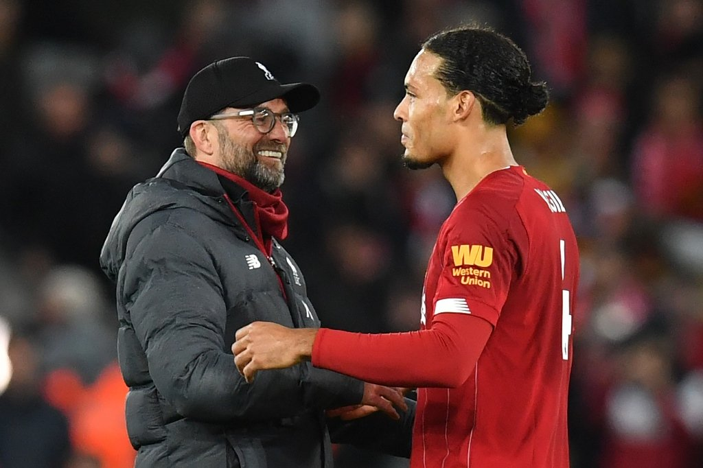 van dijk helps liverpool beat club record during 2 0 win over sheffield united