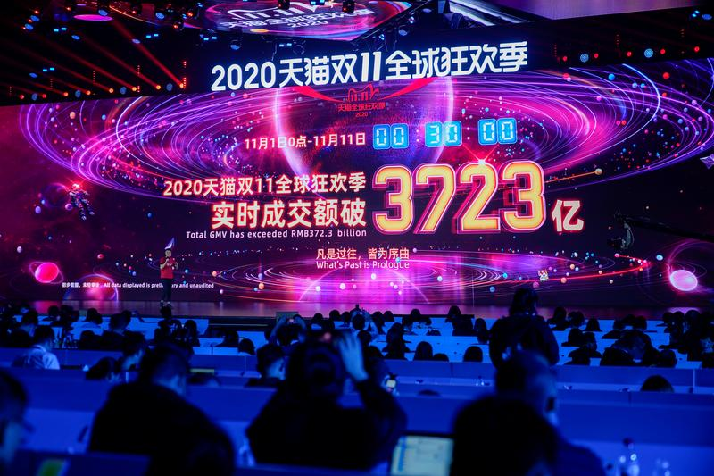 alibaba touts billions in sales as post virus singles day gets into full swing