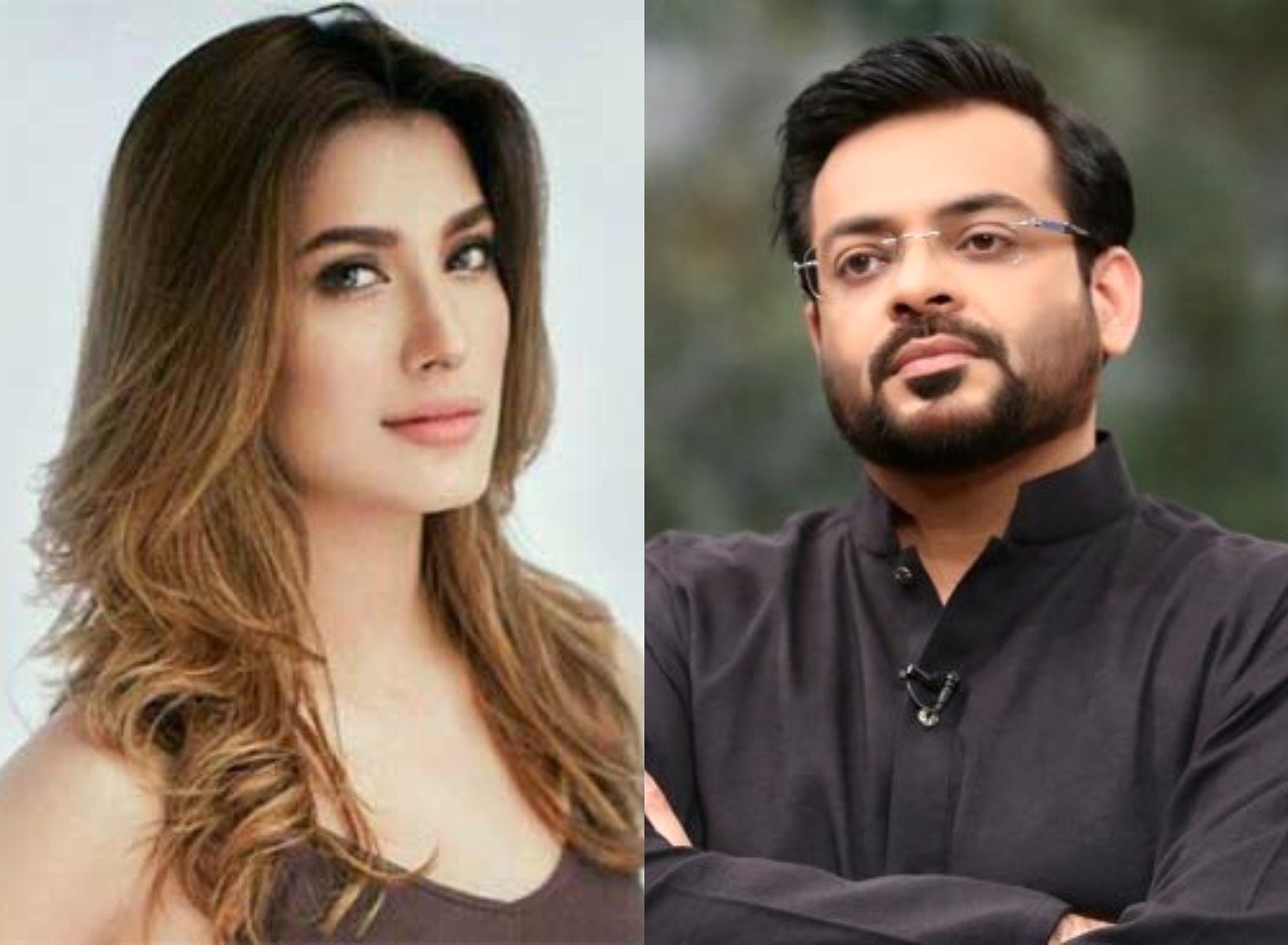 mehwish hayat shuts down aamir liaquat over sexist comments