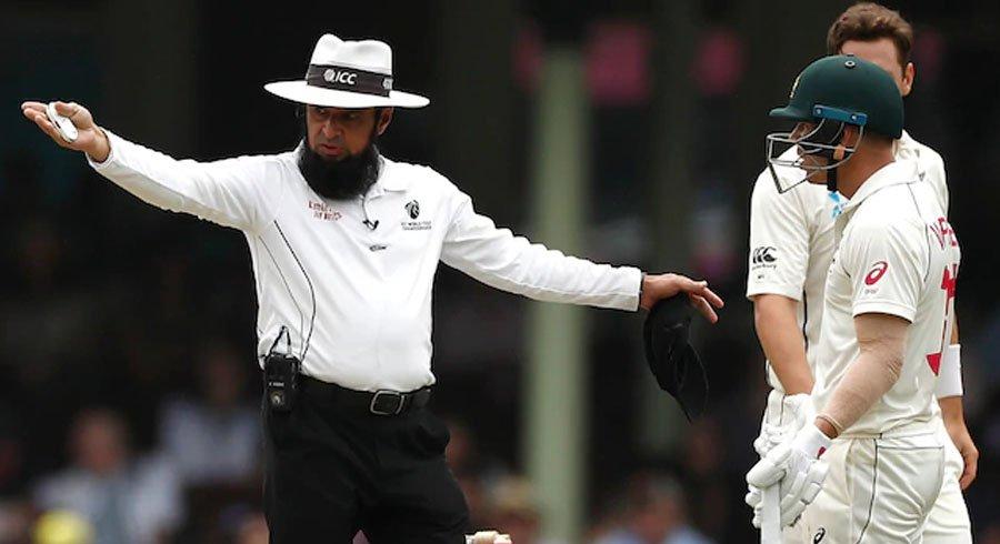 watch warner fumes at dar for penalising australia five runs