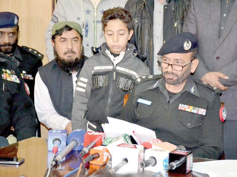 police recover 11 year old boy