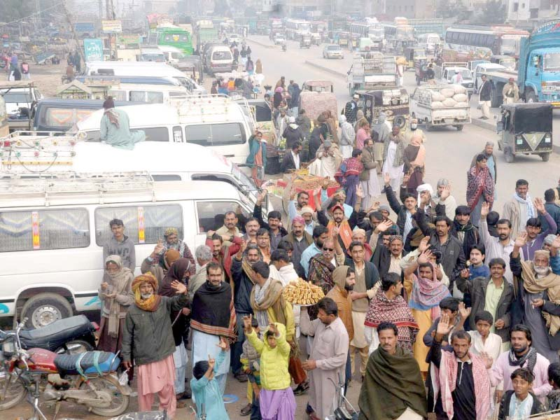 transporters across country observe strike