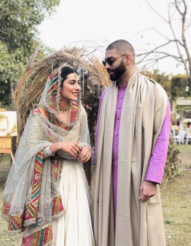in pictures eman suleman gets married amidst close friends family