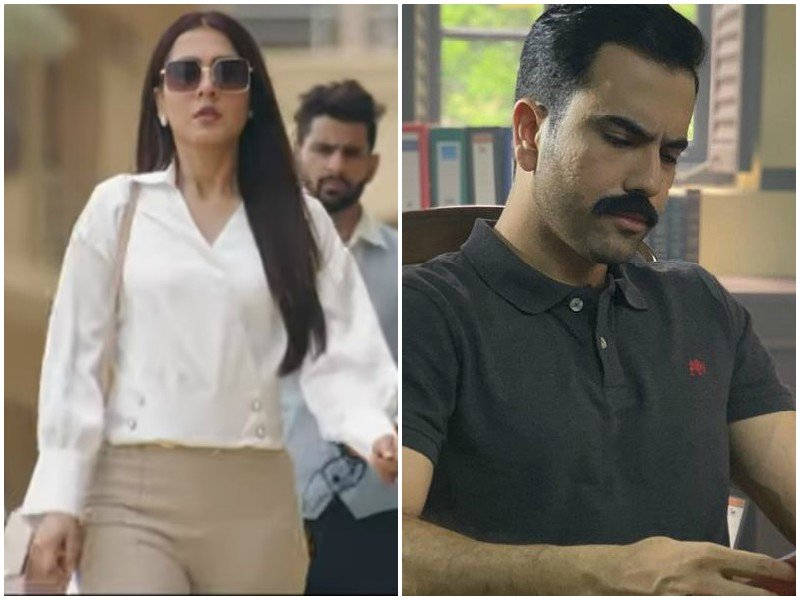 mansha pasha junaid khan s kahay dil jidher teaser just dropped