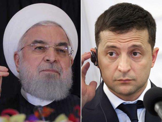rouhani promises to punish those behind ukrainian plane s downing