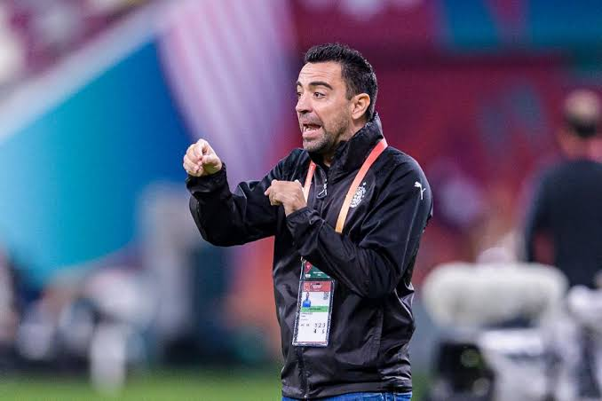 xavi in talks to take dream barcelona job qatari club confirms
