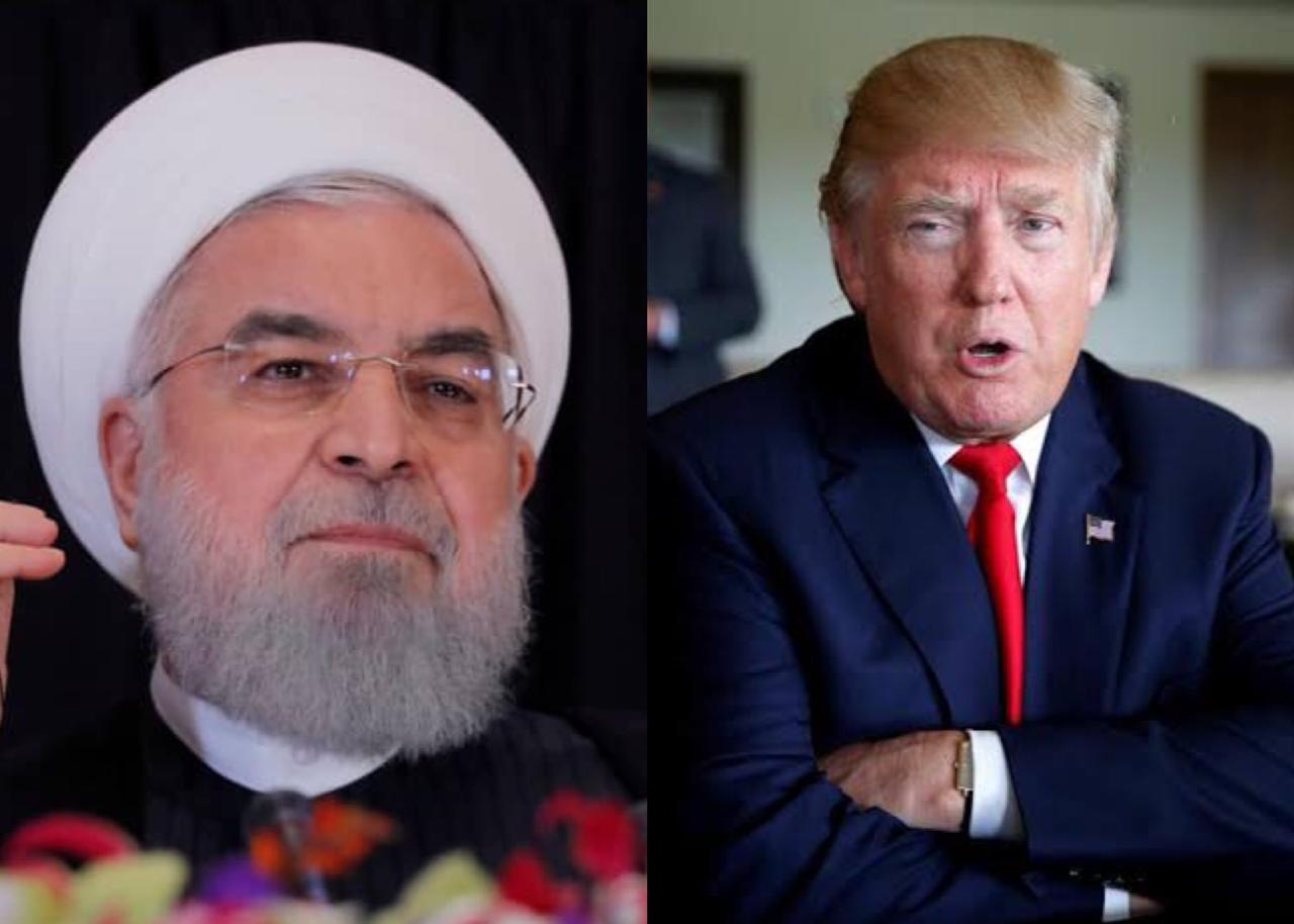 Iranian President Hassan Rouhani and US President Donald Trump. PHOTOS: REUTERS