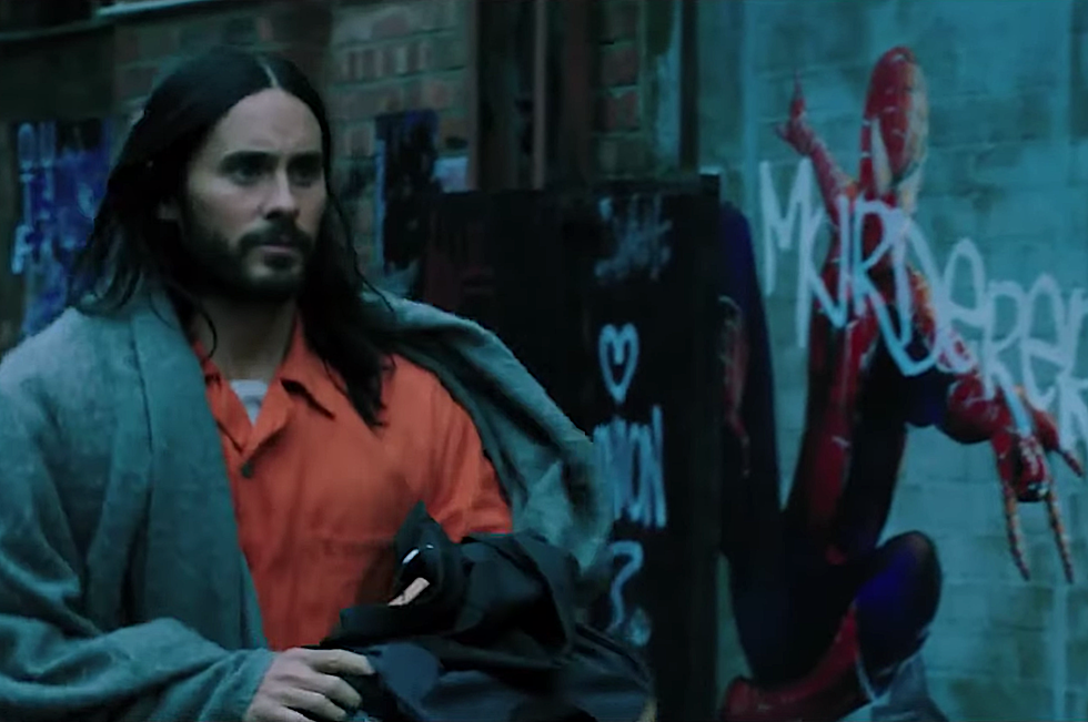 sony s morbius trailer hints at a major marvel connection
