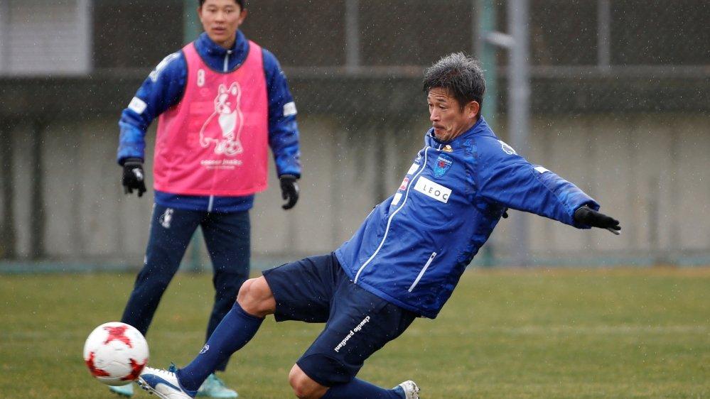 japan s king kazu striker nearly 53 renews contract