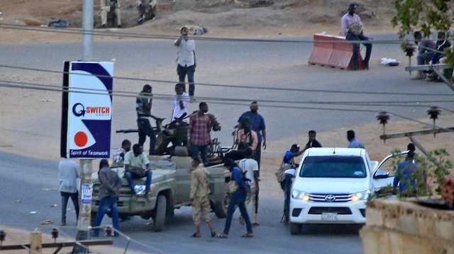 two soldiers killed as sudan crushes revolt by security agents