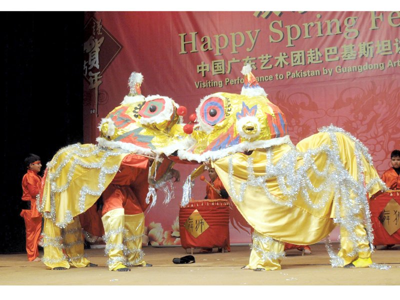 chinese spring festival kicks off at pnca