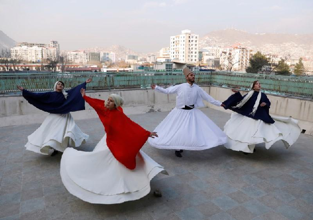 young afghan woman teaches sufi dance in kabul for inner peace