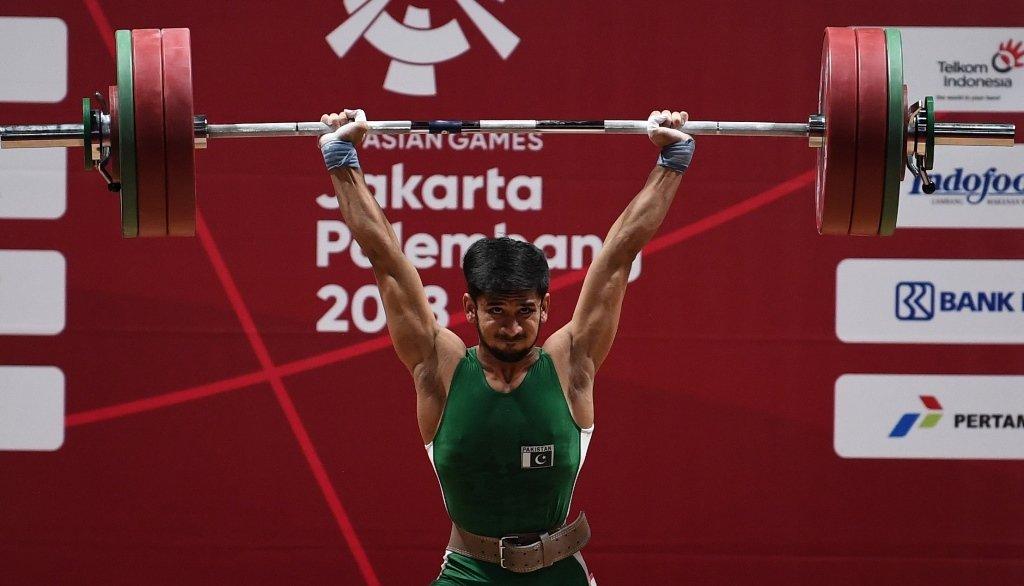 pakistani weightlifter talha talib eyes olympic berth through tashkent event