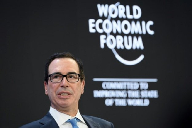 s treasury secretary steven mnuchin believes a trade deal with britain can be reached by the end of this year photo afp